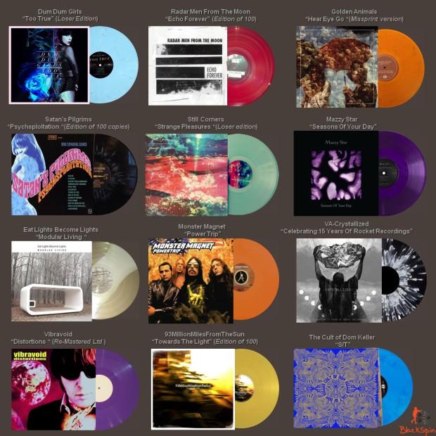 Ltd & Colored Vinyl Releases